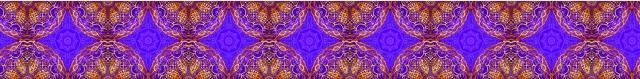 Purple pattern long